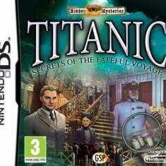 Hidden Mysteries Titanic Nintendo Ds - Jocuri Nintendo DS Activision