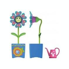 Set floare Magic Bloom si gandacel - albastru - Clama de par Copii