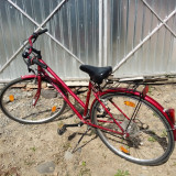 Bicicleta dama, 20 inch, 26 inch, Numar viteze: 21, Rosu