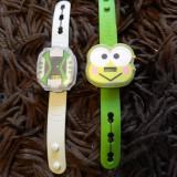 Set de doua ceasuri copii, jucarii McDonald, Ben Ten si Testoasele Ninja, 2014 - Figurina Desene animate, 4-6 ani, Unisex