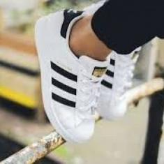 Adidasi Adidas Superstar DAMA Alb-Negru - Adidasi dama, Marime: 36, 37, 38, 39, 40, 41, 42, 43, 44, Culoare: Din imagine, Piele sintetica