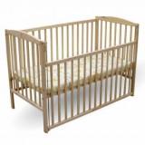 Pat copil 0-3 ani - Patut lemn pentru bebelusi, 120x60cm