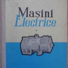 Masini Electrice Vol.1 Masini De Curent Continuu. Transformat - C. Lazu, V. Corlateanu, 159643 - Carti Constructii