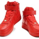 Ghete Nike air force Rosu-barbati - Ghete barbati Nike, Marime: 42, 43, 44, Culoare: Din imagine