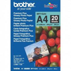 Hartie foto Brother Glossy A4 20 coli - Hartie foto imprimanta
