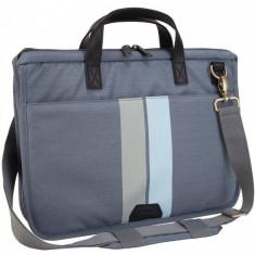 Geanta laptop Targus Geo Simpson Slim 15.6 inch gri
