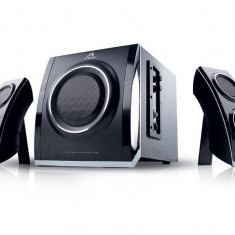 Sistem audio 2.1 Tracer Fusion negru - Boxe PC