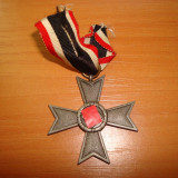 Decoratie militara germana Crucea de Merit de Razboi clasa-a 2-a WW2 fara sabii