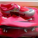 Ghete fotbal profesionale Nike Mercurial Vapor 6 SG, marimea 41 !, Culoare: Roz, Barbati, Iarba: 1