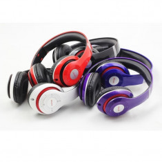 Casti stereo wireless cu bluetooth noi, in cutie - Casti Telefon, Alb, Conectivitate bluetooth: 1, Pliabile: 1