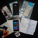 Nokia 640 LTE (ca nou, pret negociabil) - Telefon Nokia, Alb, 8GB, Neblocat, Quad core, 1 GB