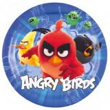 8 Farfurii Angry Birds Movie Party 23cm