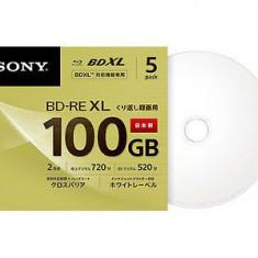 Sony bluray 100GB bd re bdxl 4k blu ray disc reinscriptibil