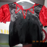 Costum fete - Costum carnaval, Marime: Alta, Culoare: Rosu