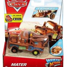 Masinuta Disney Cars Wheel Action Drivers Mater - Masinuta electrica copii Mattel