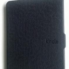 Husa Kindle Paperwhite, Neagra, Functie Wake / Sleep