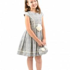 Rochie de mireasa printesa - Rochita cu poseta 6 ani Vanilla Colours