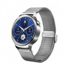 Smartwatch Huawei Watch W1 otel inoxidabil, bratara plasa metalica