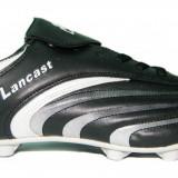 Ghete fotbal Lancast negru/alb