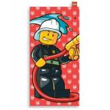 Prosop mare de plaja LEGO City pompier (100215)