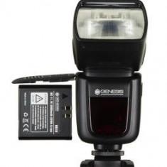 Blitz dedicat - Pachet Genesis Stroboss 58N blitz i-TTL dedicat Nikon + Genesis Stroboss Navigator Kit Declansator