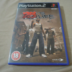 Joc 25 to Life, PS2, original, 24.99 lei! - Jocuri PS2 Rockstar Games, Actiune, 18+, Single player