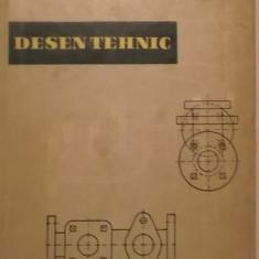 Desen tehnic, manual pentru scolile profesionale, vol. I (1960)
