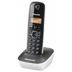 Telefon fix - Panasonic Telefon fara fir Panasonic KX-TG1611FXW, CallerID, Alb/Negru
