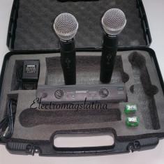 Microfon Shure Incorporated - Set microfoane profesionale Shure SM 58 fara fir