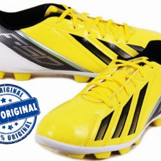 Ghete fotbal Adidas F5 - adidasi originali - ghete barbat - adidasi fotbal, Barbati, Iarba