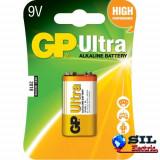 Baterie alcalina 9V 1 buc/blister Ultra GP