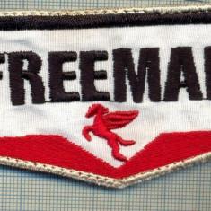 228 -EMBLEMA AUTOMOBILISM?, FIRMA CARBURANTI? -,, FREEMAN