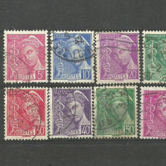 "FRANTA 1938 – UZUALE ""MERCUR"", timbre stampilate H84"