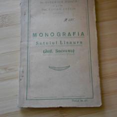Carte veche - GHEORGHE MIHUTA--MONOGRAFIA SATULUI LISAURA(jud. Suceava)