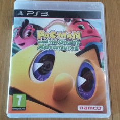 JOC PS3 PAC-MAN AND THE GHOSTLY ADVENTURE ORIGINAL / by WADDER - Jocuri PS3 Namco Bandai Games, Actiune, 3+, Multiplayer