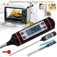 Termometru digital alimentar bucatarie BBQ lichide bucatar culinar TUB PLASTIC