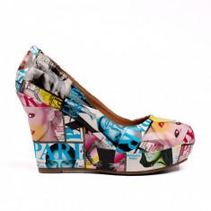 Pantofi dama Lucky galbeni
