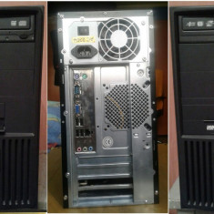 Sisteme desktop fara monitor - Sistem PC / Desktop iMicro gaming, dual core + 1GB RAM+300GB HDD, SUA