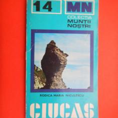 CIUCAS Muntii nostri Nr 14 cu harta - Harta Turistica