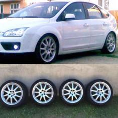 Janta aliaj, Diametru: 18, Numar prezoane: 5, PCD: 108 - Vand Roti Jante Genti R18 18 inch 5X108 Originale + Anvelope Ford Land Rover etc