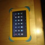 """Tableta Evolio EvoTabby Noua Sigilata Quad Core Ecran 7""""+ Husa Silicon Protectie, 7 inch, 8 Gb, Wi-Fi"""