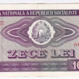 3) Bancnota 10 Lei 1966 VF+/XF