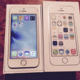 iPhone 5S 16GB Gold Auriu FULL BOX NEVERLOCK CA NOU |VANZATOR GOLD+CADOU