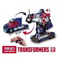 Robot Transformers 4 cu telecomanda Optimus, Nikko - Vehicul