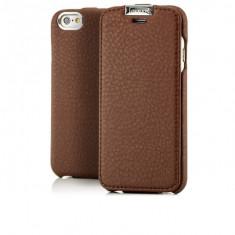 Husa piele iCARER iPHONE 6, 6S flip cover cu clapeta, inchidere magnet, pe MARO