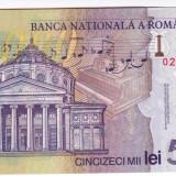 Bancnota 50.000 lei ( 50000 ) 2001, polymer PERFECT UNC (1)
