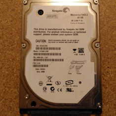 Hard-disk / HDD SEAGATE MOMENTUS 60GB ST96812AS Defect - Nu comunica - HDD laptop Seagate, 41-80 GB, SATA