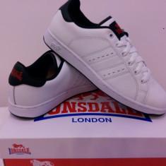 Adidas original Lonsdale - Adidasi dama Lonsdale, Marime: 37, 38, 39, 40, 35.5, Culoare: Alb, Albastru, Piele naturala
