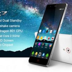 Telefon mobil ZTE, Alb, 32GB, Neblocat, Dual SIM, Quad core - ZTE Nubia Z7 SMARTPHONE - QUADCORE 2.5Ghz, 3Gb RAM, 32GB ROM, DISPLAY 2K, NFC, IR