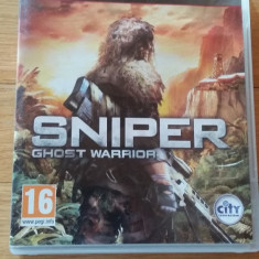 JOC PS3 SNIPER GHOST WARRIOR ORIGINAL / by WADDER - Jocuri PS3 Altele, Shooting, 16+, Single player